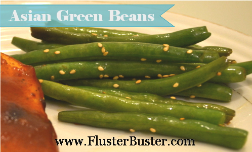Vegetable Side Dish - Asian Green Beens