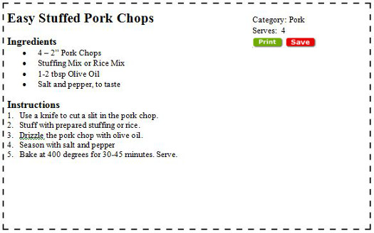 how to cook stuffed pork chops without drying them out