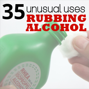 35 Rubbing Alcohol Uses Frugal Living