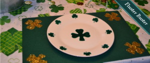 Tablescape – Under $10 St. Patrick's Day