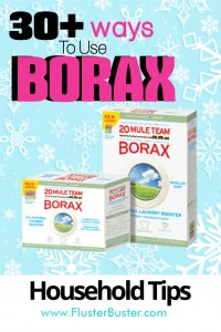 30+ Household Tips Using Borax