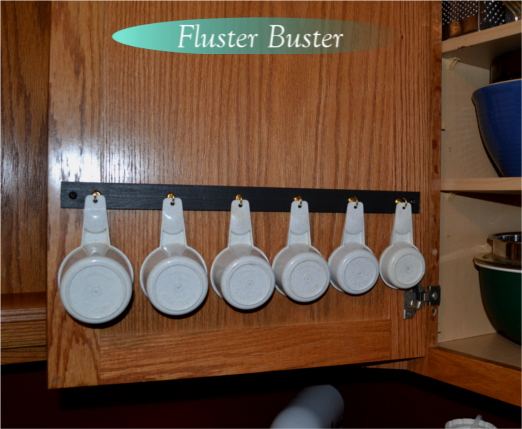 DIY Project for Organizing Measuring Cups and Spoons