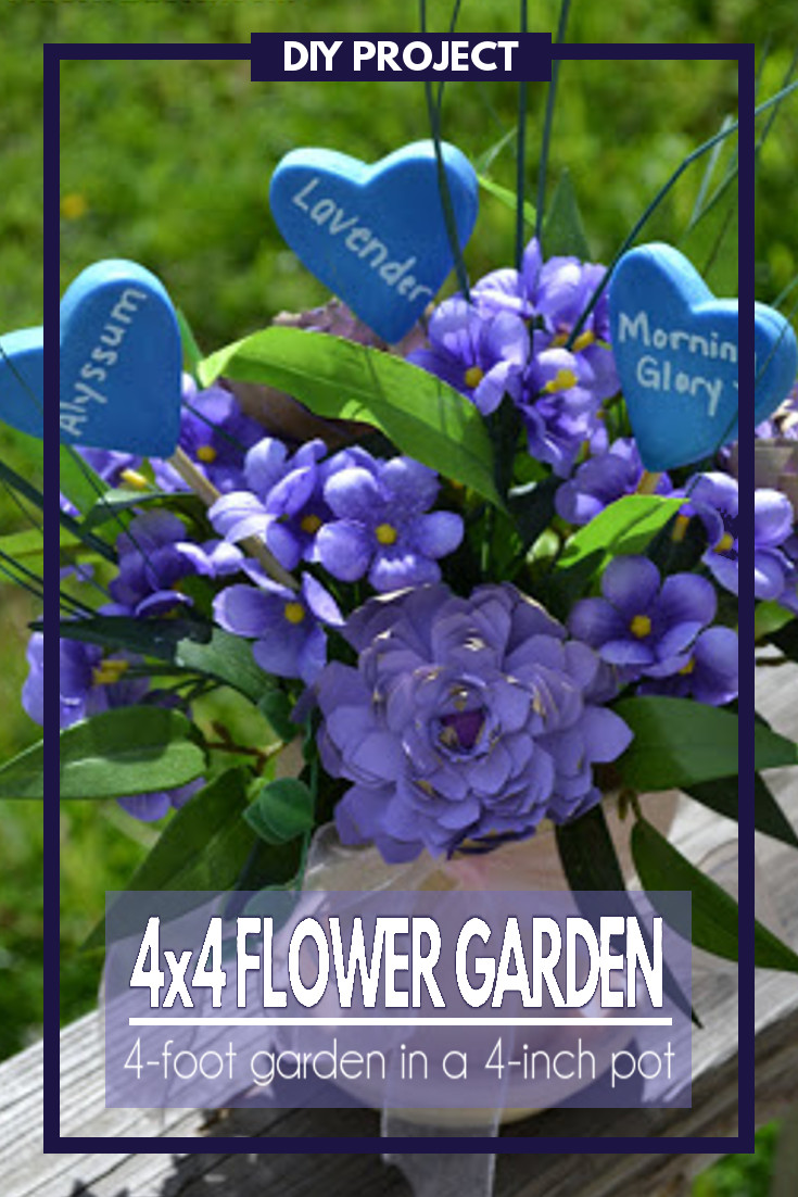 A fun DIY project that can be given as a beautiful bouquet and then used to plant the most amazing flower garden.