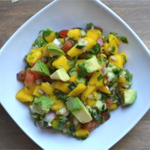 Mango Salsa (with Avocados)