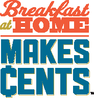 Breakfast at Home Makes Cents (Giveaway)