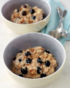 Quinoa - It's considered to be a super food and it can be used in a variety of recipes.
