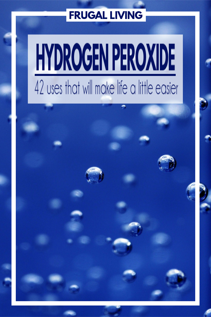 Hydrogen Peroxide can do so much more than clean cuts and scrapes. It's actually an inexpensive way to take care of a lot of little things around the house.