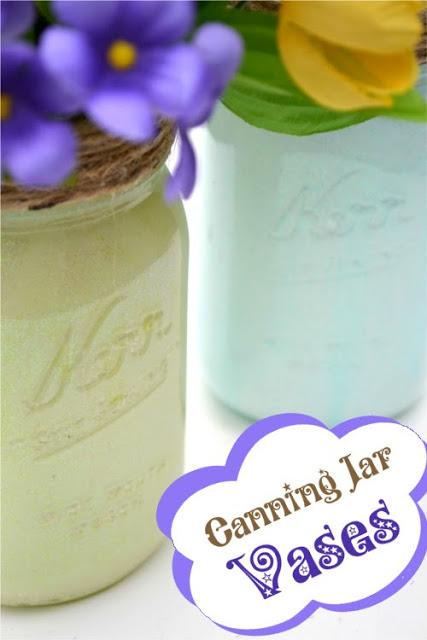 Mason Jar Crafts - DIY Decorative Vases