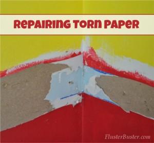 Drywall: Repairing Torn Paper