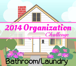 Home Organization Challenge: Day 23 – Bathroom(s)/Laundry Room