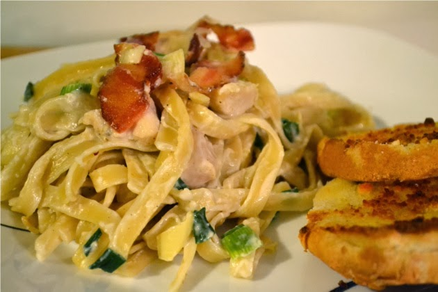 Cheap and Easy Recipes: Chicken Alfredo Dinner (Feed 4 for $4.99)