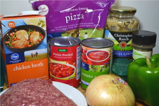 Fluster Buster: Cheap and Easy Recipes - Lasagna Chili (Feed 4 for $5.08)