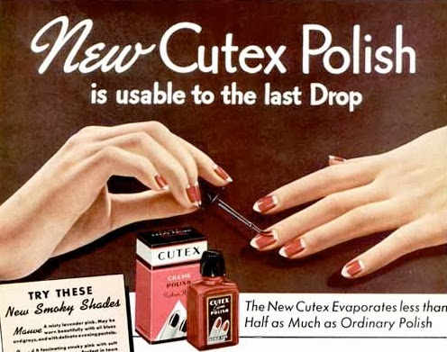 Fluster Buster: Household Tips - 32 Unusual Uses for Nail Polish (WWII Series)