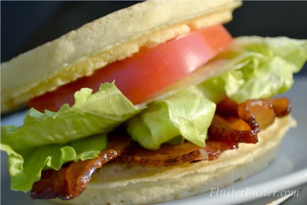 BLT Waffles - Kid Friendly Recipes