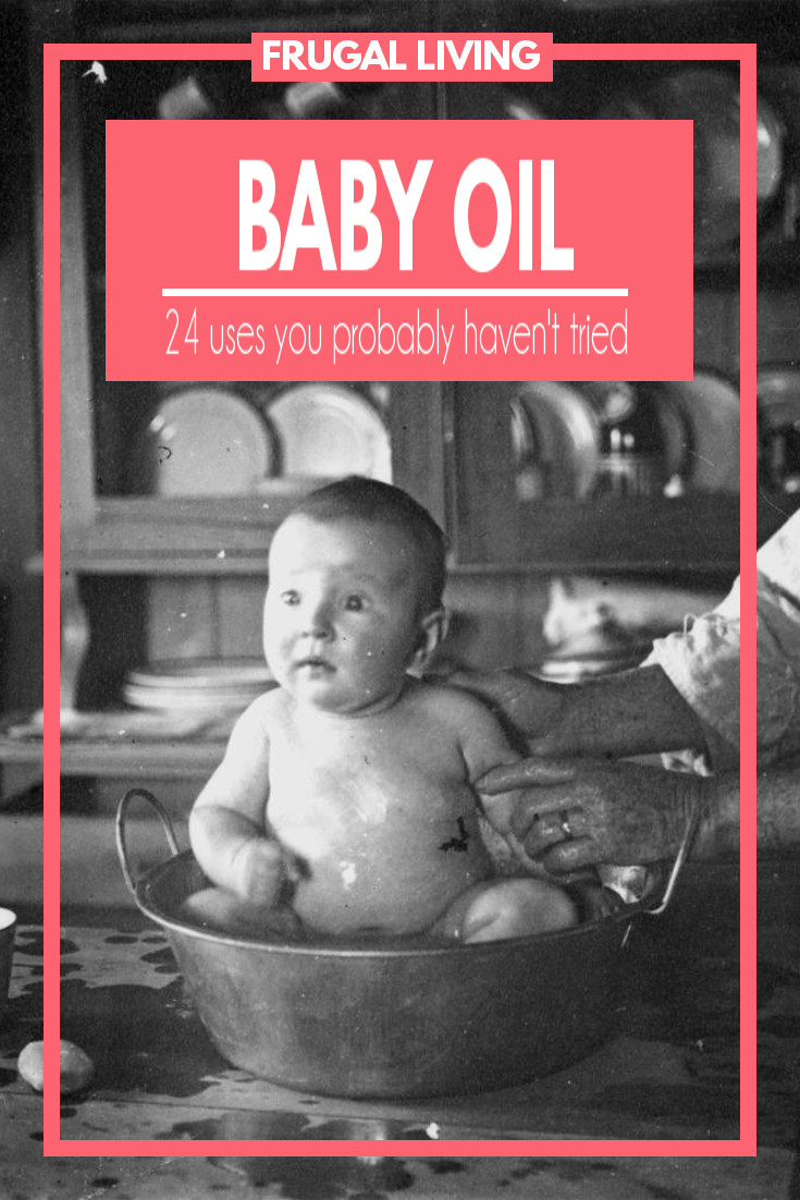 24 Baby Oil Uses that save both time and money.