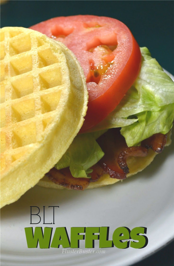 BLT Waffles - Kid Friendly Recipes