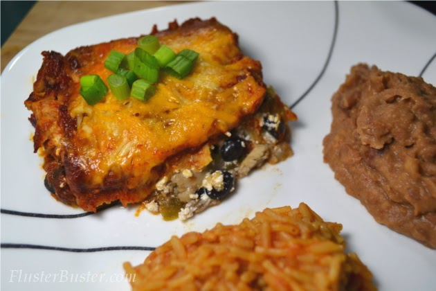 Easy Chicken Enchiladas (Feed 4 for $5.09)