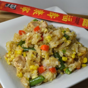 Simple 20-Minute Chicken Fried Rice