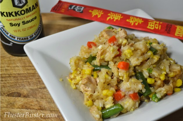 Chicken Fried Rice – a simple recipe that will make weeknights delicious.