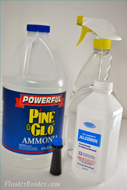 Making this Homemade Glass Cleaner is super easy and it's made with a couple of inexpensive products that you probably already have.
