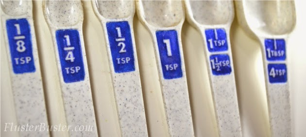 Household Tips: DIY Readable Measuring Spoons