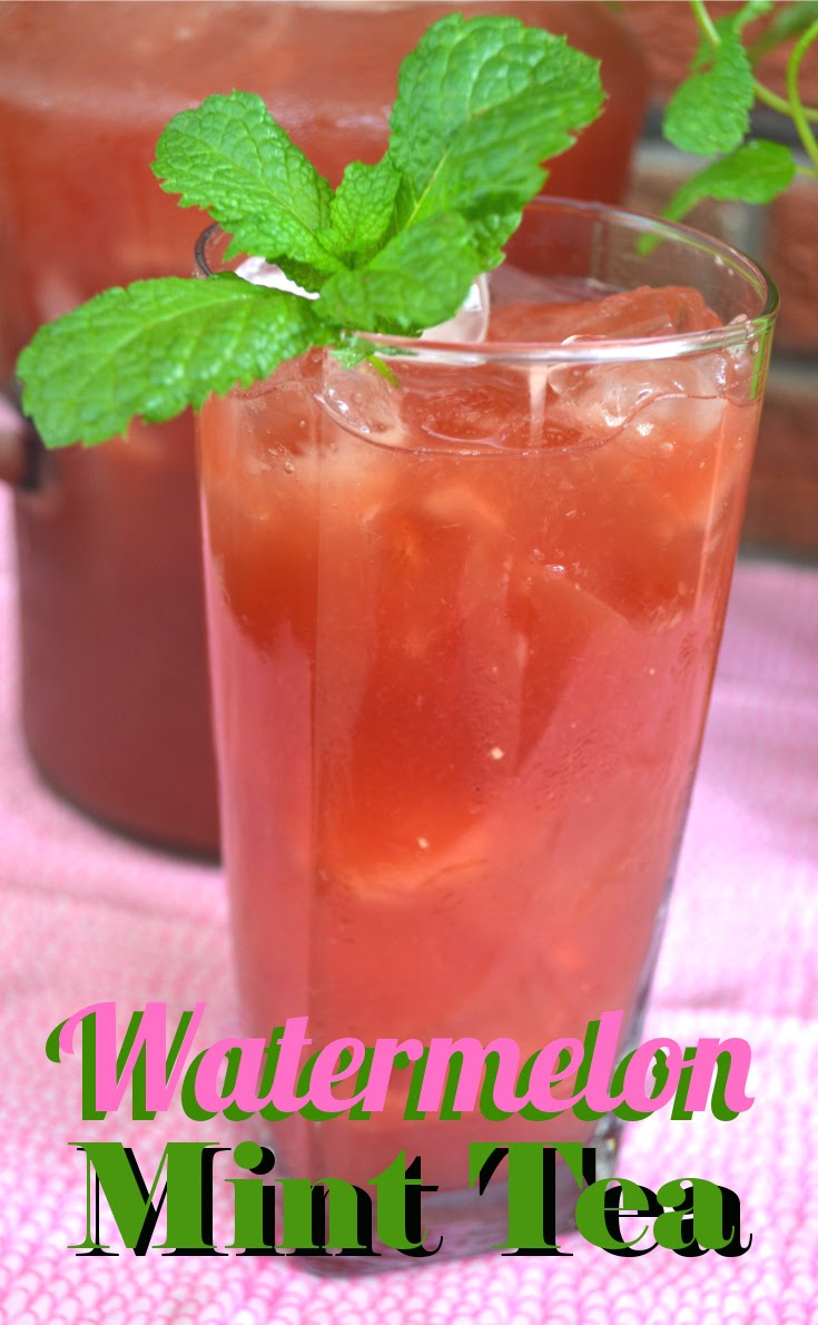 Watermelon-Mint Iced Tea