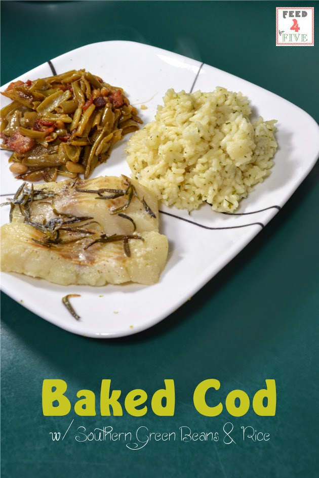 Cheap and Easy Recipes: Baked Rosemary Cod (Feed 4 for $4.95)