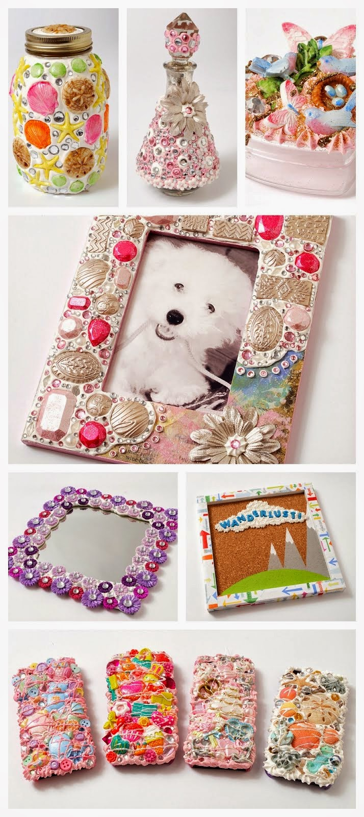 Mod Podge Collage Clay Memory Box Tutorial