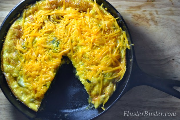 Cheap and Easy Recipes: Spinach Frittata (Feed 4 for $3.77)