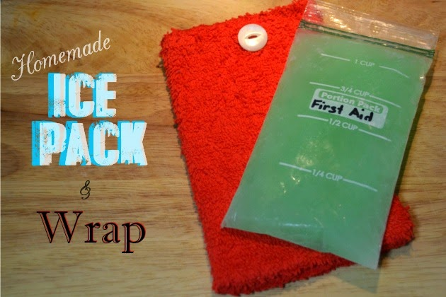 Homemade Ice Packs & Wraps