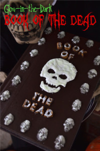 Mod Podge Glow-in-the-Dark Book of the Dead   Fluster Buster
