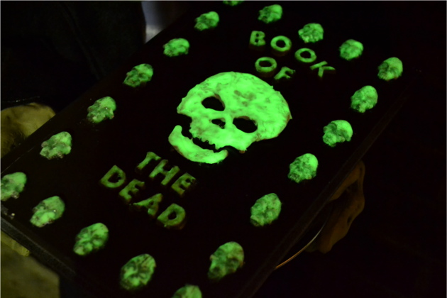 Mod Podge Glow-in-the-Dark Book of the Dead | Fluster Buster