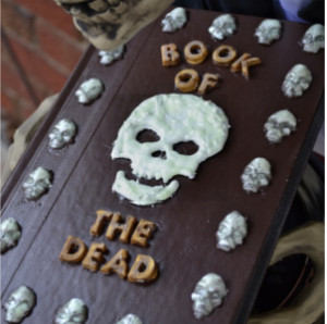 Mod Podge Glow-in-the-Dark Book of the Dead (Tutorial)