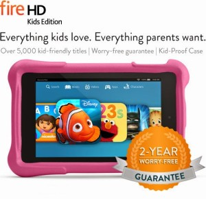 Safely Sharing Technology with Kids (Amazon Fire HD Kids Edition Review)