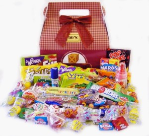 Easter Basket Idea – 1990's Retro Candy Crate