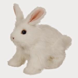 FurReal Friends Hop 'N Cuddle White Bunny