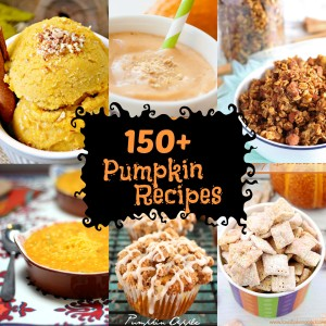 150+ Homemade Pumpkin Recipes