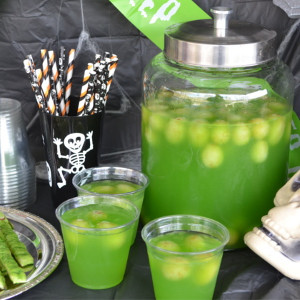 Eye of newt halloween punch recipe fluster buster for Halloween alcoholic punch bowl recipes