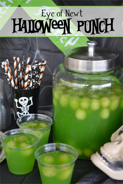 Eye of Newt Halloween Punch Recipe | Fluster Buster