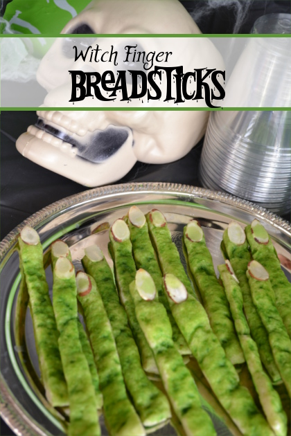 Witch Finger Breadsticks | Fluster Buster