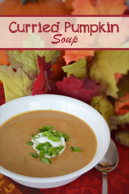 Curried Pumpkin Soup Recipe | Fluster Buster