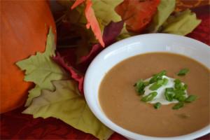 Curried Pumpkin Soup Recipe | Fluster Buster