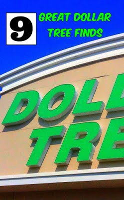 Great Ideas - 9 Great Dollar Tree Finds from Living on Cloud Nine