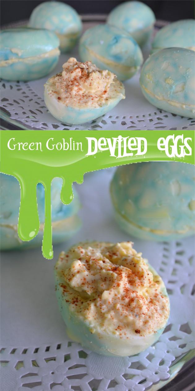 Green Goblin Eggs (Pinterest)