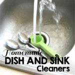 Dish and Sink Cleaner Recipes