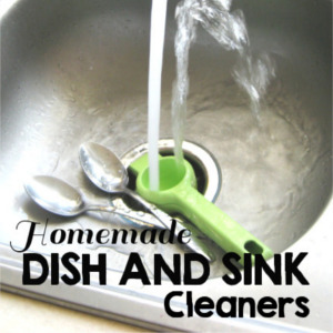 20 Homemade Dish and Sink Cleaner Recipes