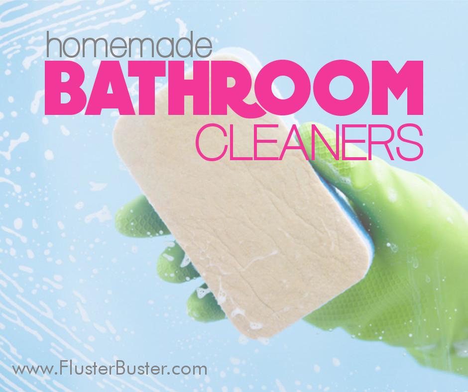 15 Bathroom Cleaner Recipes