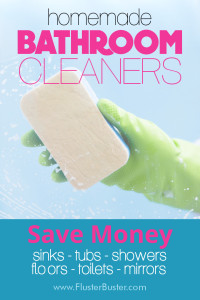 15 Bathroom Cleaner Recipes
