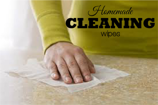 15 Homemade Cleaning Wipes Recipes