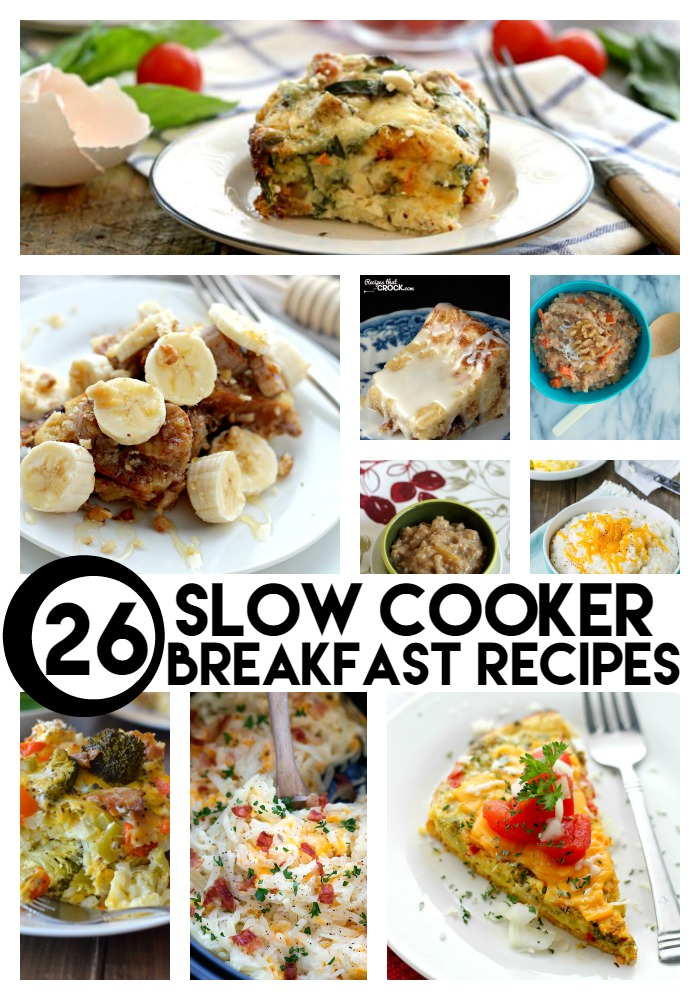 Great Idea - 26 Breakfast Crockpot Recipes